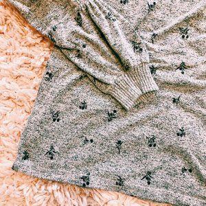 bobeau Intimates & Sleepwear - Collection By Bobeau Gray Floral Pajama Set